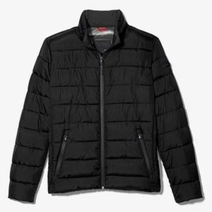 NWT MK Men's Quilted Puffer Jacket Black
